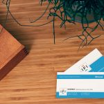 business card, company, address